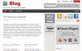 iBlog Thesis Skin