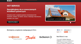 Hotservice.pl website redevelopment