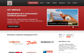 Hot Service Website Redevelopment
