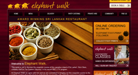 Search engine optimisation of Elephantwalk.co.uk