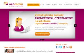 Webcomm.eu website and blog development