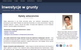Blog development Inwestycjewgrunty.com