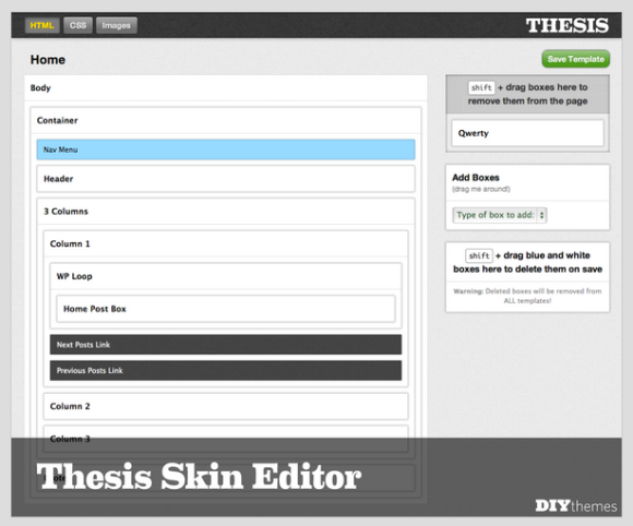 New Thesis 2.0 WordPress theme features