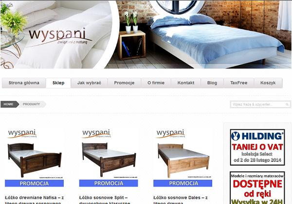 E-commerce site supermaterace.com.pl
