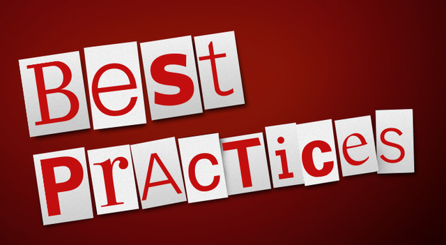 Realize the significance of applying the best practices