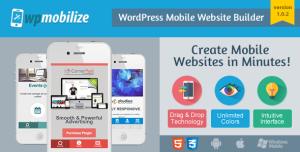 wp mobile website builder